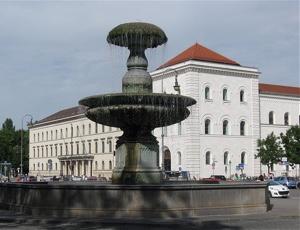 Dr. Kaija Voss, München, LMU, Brunnen