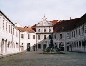 Dr. Kaija Voss, München, Residenz, Brunnenhof