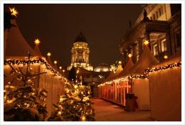 Berlin, Gendarmenmarkt, Weihnachten