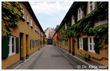 Dr. Kaija Voss, Augsburg, Fuggerei