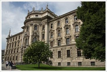 Dr. Kaija Voss, München, Justizpalast