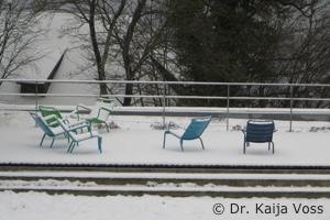 Dr. Kaija Voss, Haus Buchenried, Terrasse
