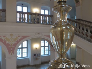 Dr. Kaija Voss, Kloster Irsee, Foyer