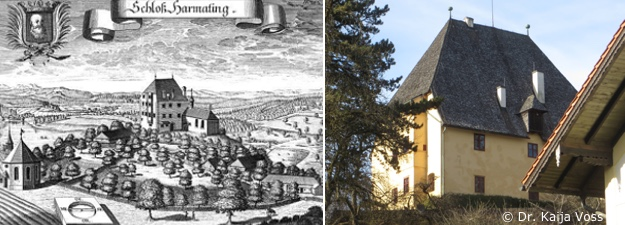 Dr. Kaija Voss, Schloss Harmating