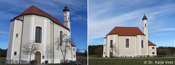 Dr. Kaija Voss, Wallfahrtskirche St. Leonhard, Dietramszell