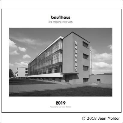 Dr. Kaija Voss, Kalender bau1haus 2019, Jean Molitor