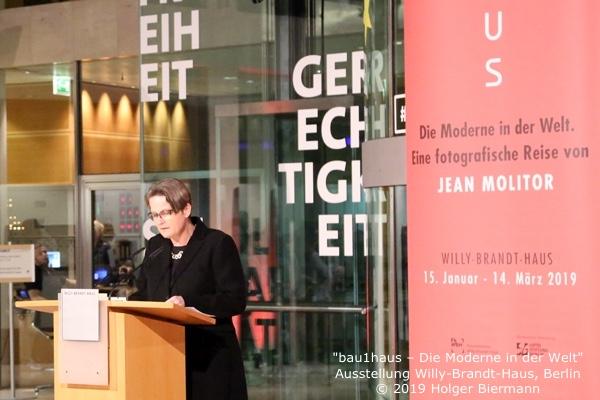 Dr. Kaija Voss, bau1haus-Ausstellung, FkWBH, 15.1.19