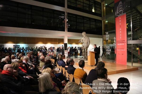 Dr. Kaija Voss, Bauhaus-Ausstellung, FkWBH, 15.1.19
