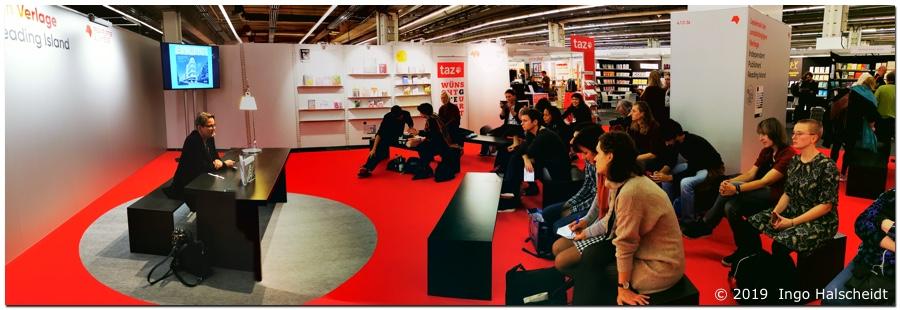 Dr. Kaija Voss, Frankfurter Buchmesse, 18.10.19