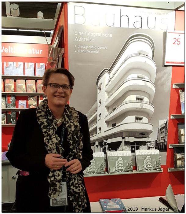 Dr. Kaija Voss, Frankfurter Buchmesse, 19.10.19