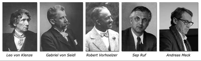 Dr. Kaija Voss, 5 Architekten