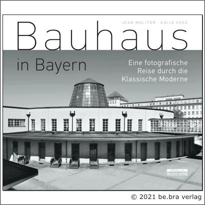"Dr. Kaija Voss, Cover ""Bauhaus in Bayern"", 2021"