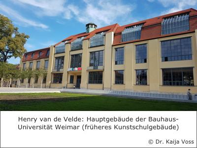 Dr. Kaija Voss, Henry van de Velde, Weimar